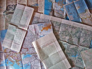 An image of some maps by http://www.flickr.com/photos/alpoma/ used under CC Attribution-NonCommercial 2.0 Generic (CC BY-NC 2.0)