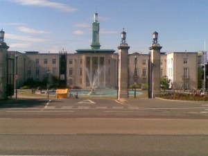 A photograph of Walthamstow Town Hall