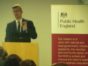 A photograph of gregor henderson, director public mental health and wellbeing, Public Health England